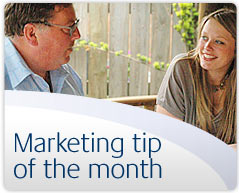Marketing tip of the month